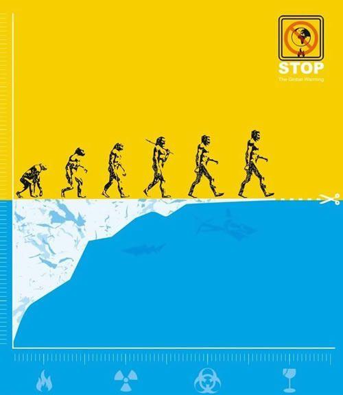 全球变暖!36幅创意公益环保海报欣赏