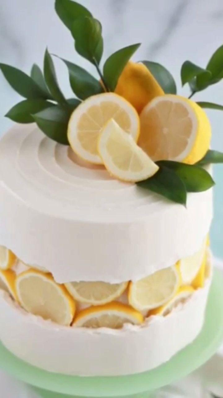 Decorating cake with lemons -   15 crazy cake Designs ideas
