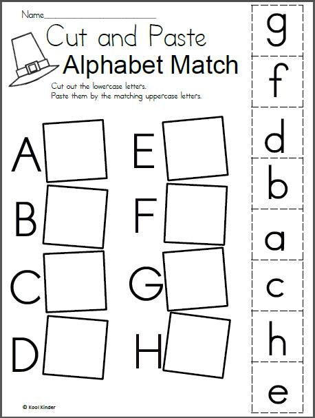 thanksgiving alphabet matching worksheets print jazmin kindergarten worksheets alphabet. Black Bedroom Furniture Sets. Home Design Ideas