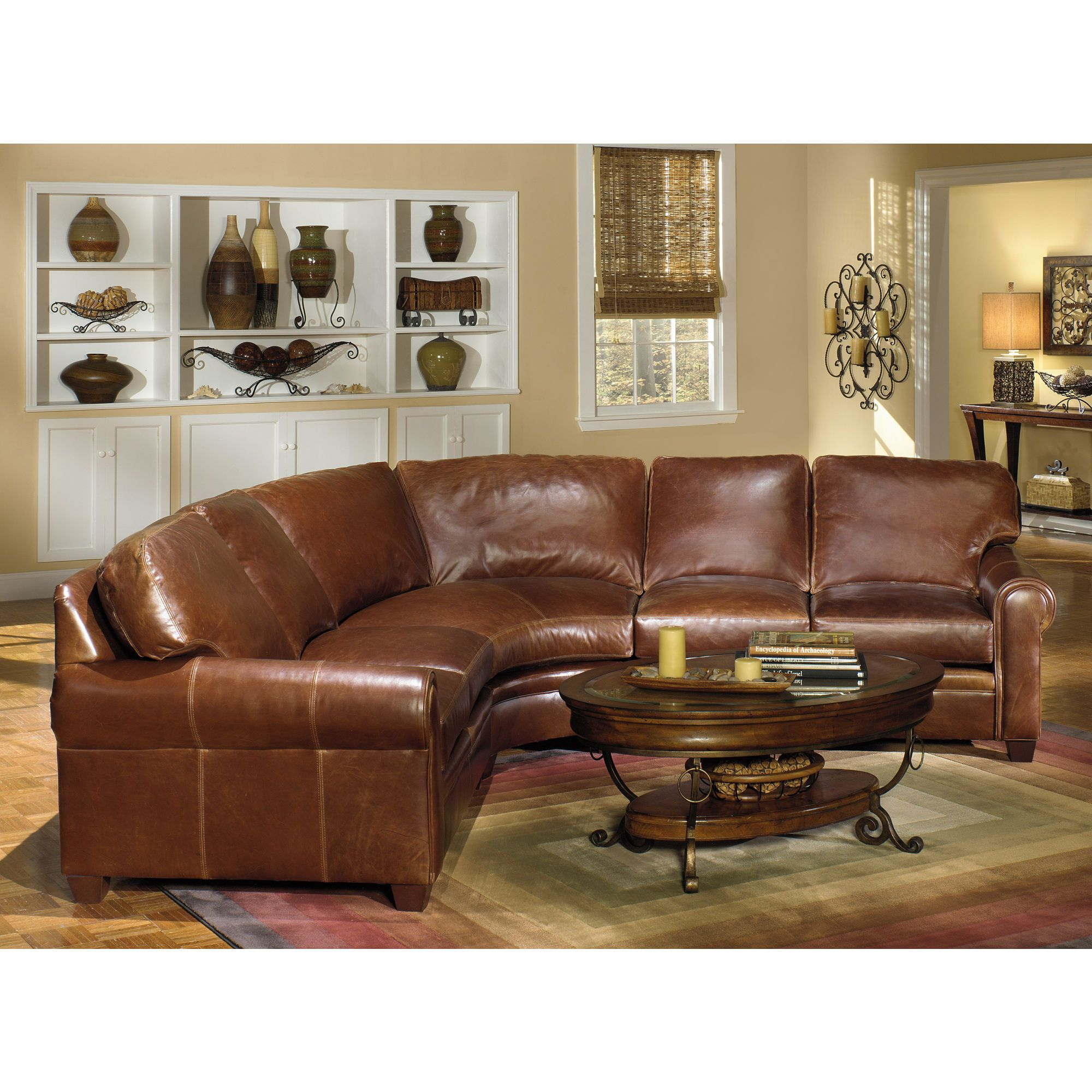 Leather Sectional I Would Like To Have Two Of These