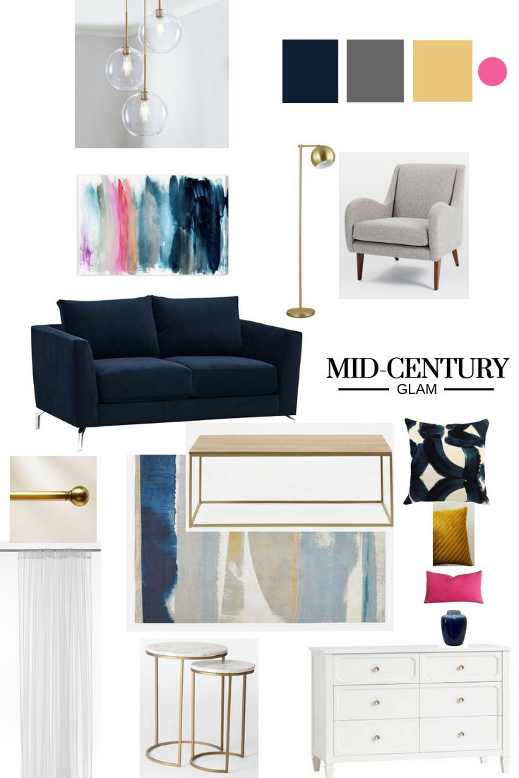 Mid Century living room | Estilos de Decoración | Pinterest | Mid ...
