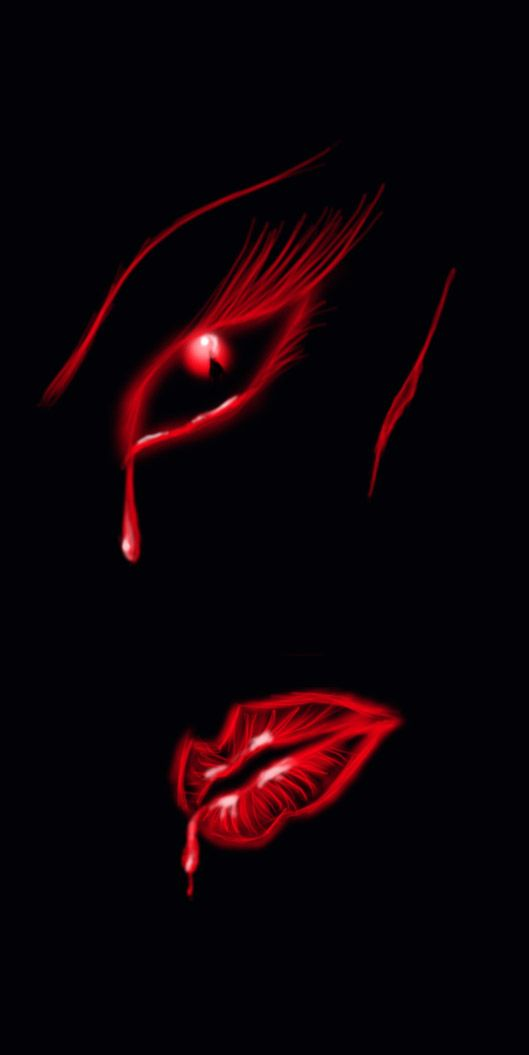 Black and Red. #blackandred #artwork #lips http://www.pinterest.com/TheHitman14/black-and-red/