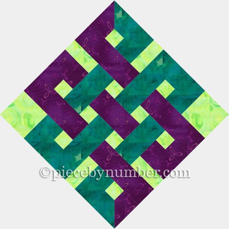 Gordian Knot Template Printable Quilt