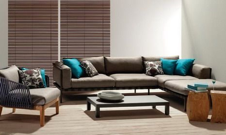 small sectionals for small living rooms | ... Room Furniture from Small Corner  Sofa