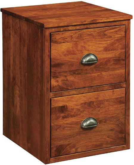 Up To 33% Off Jacoby 2 Drawer File Cabinet   Amish Outlet Store