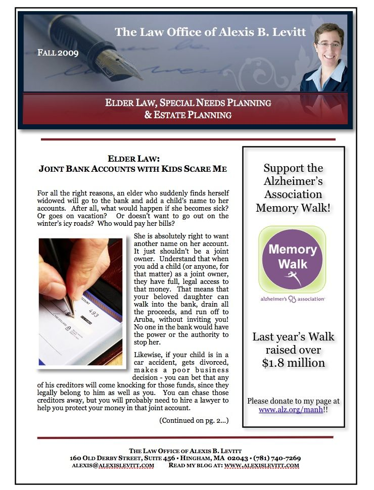 Newsletter formatted for print Page 1 of 4 Work Samples - Newsletter Format