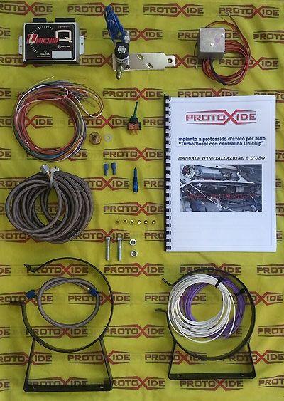 Kit Protossido D Azoto Per Turbodiesel 1 900 Fiat Alfa Lancia Jtd