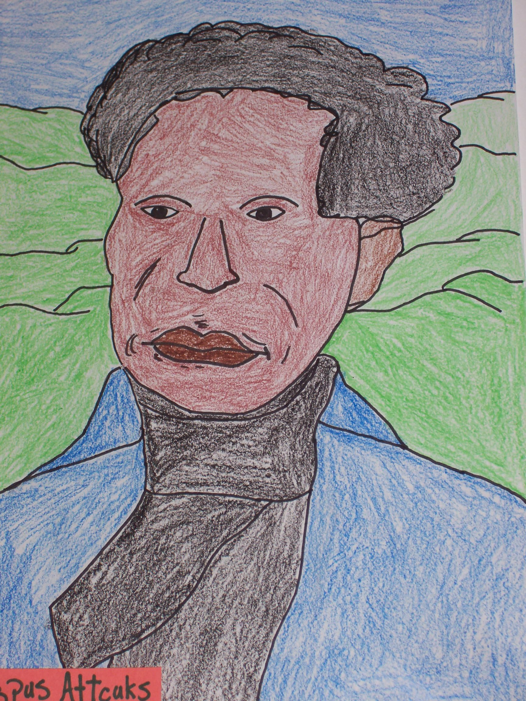 Famous African American Portraits School Projects