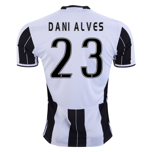 2334fc59b Juventus 16 17 Dani Alves Home Soccer Jersey ☆ Get Match Ready for the 2016  17 UEFA Champions League! ☆