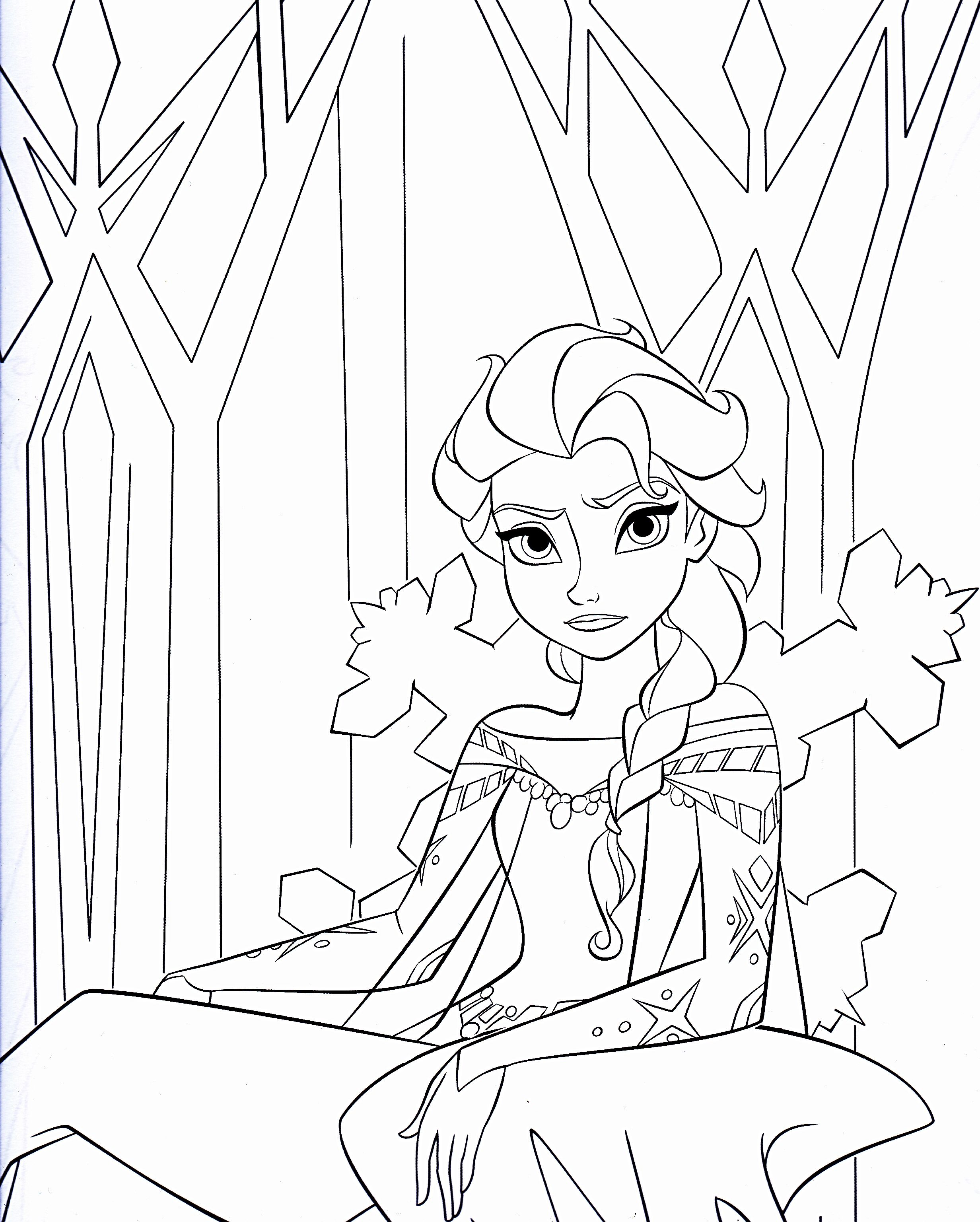disney frozen coloring pages | Walt Disney Coloring Pages - Queen ...