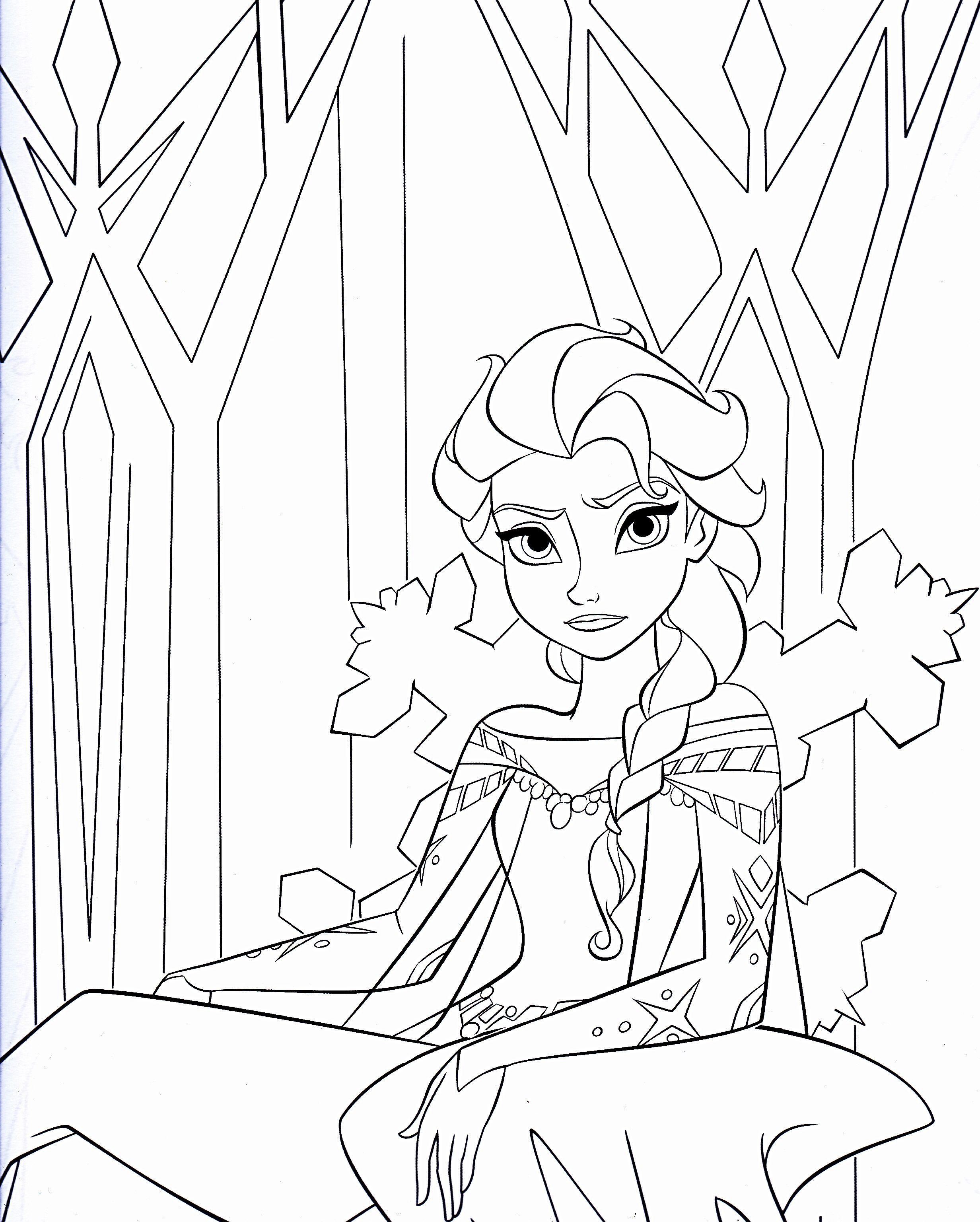 Disney Frozen Coloring Pages Walt Disney Coloring Pages Queen