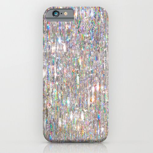 To Love Beauty Is To See Light (Crystal Prism Abstract) iPhone & iPod Case