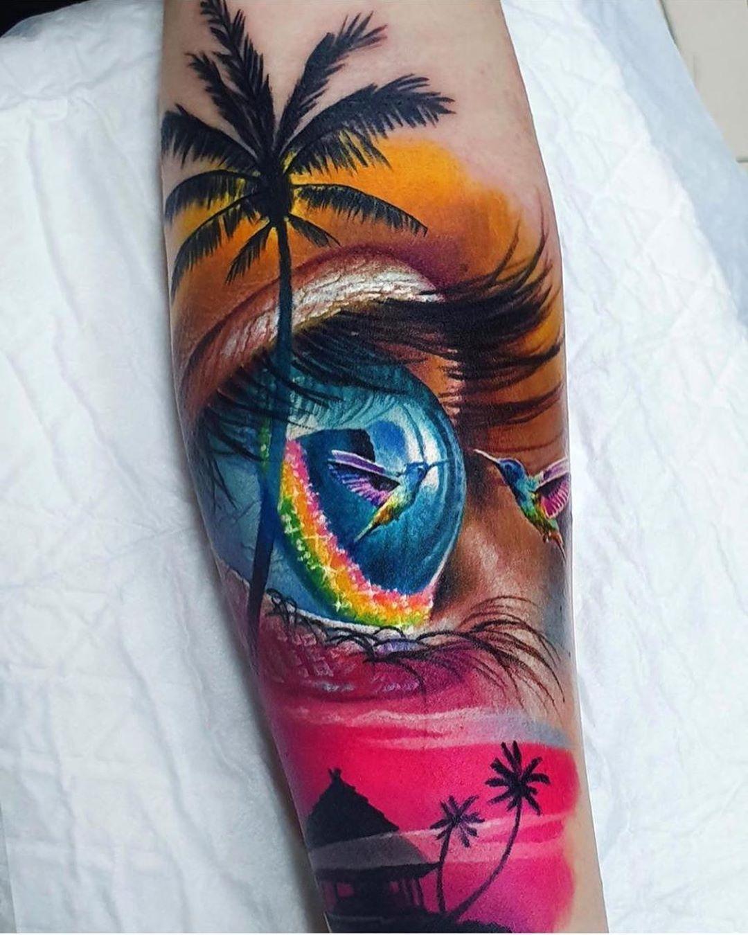 Tattoo artwork by Vasilii Suvorov