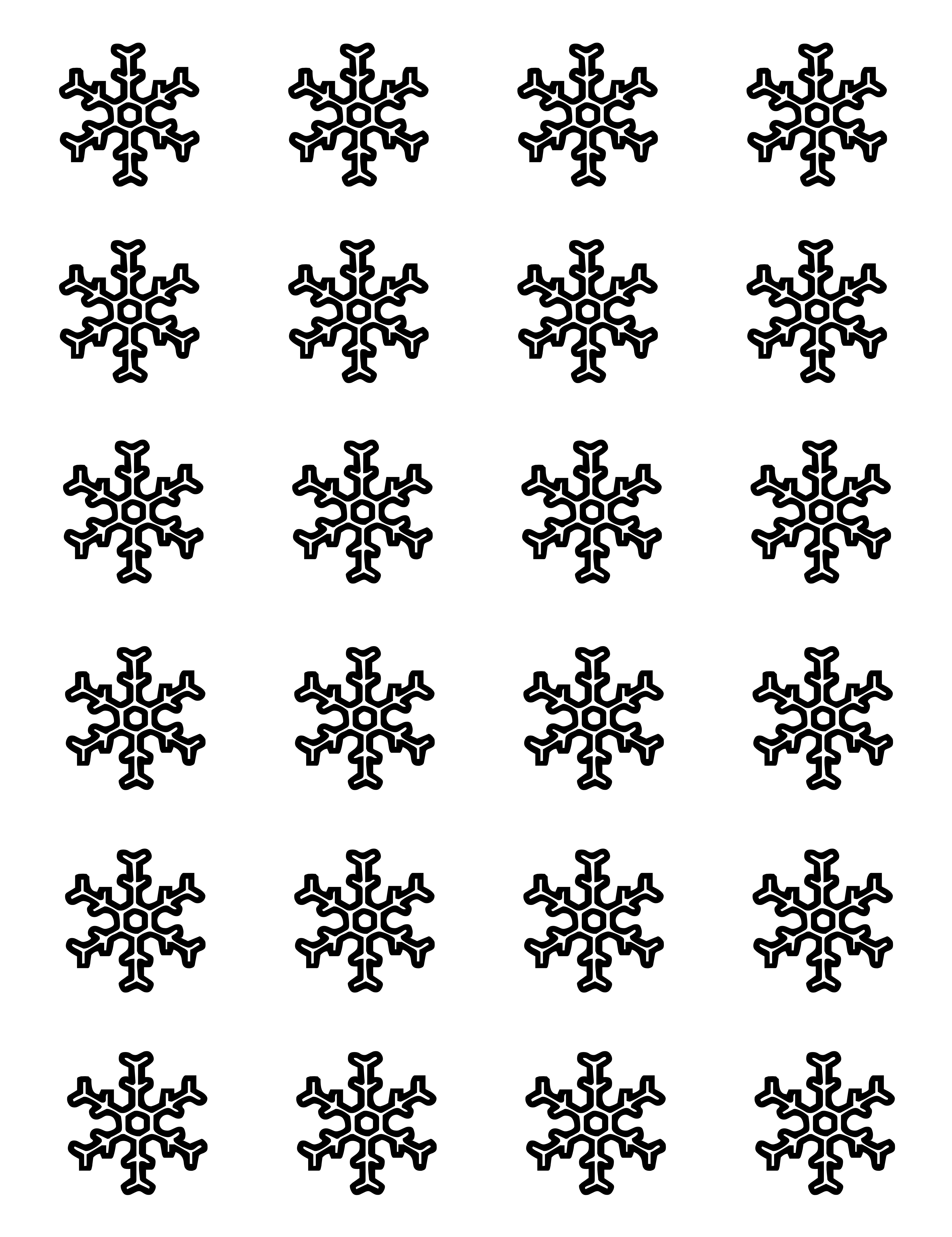 free for yousnowflake templates for royal icing snag