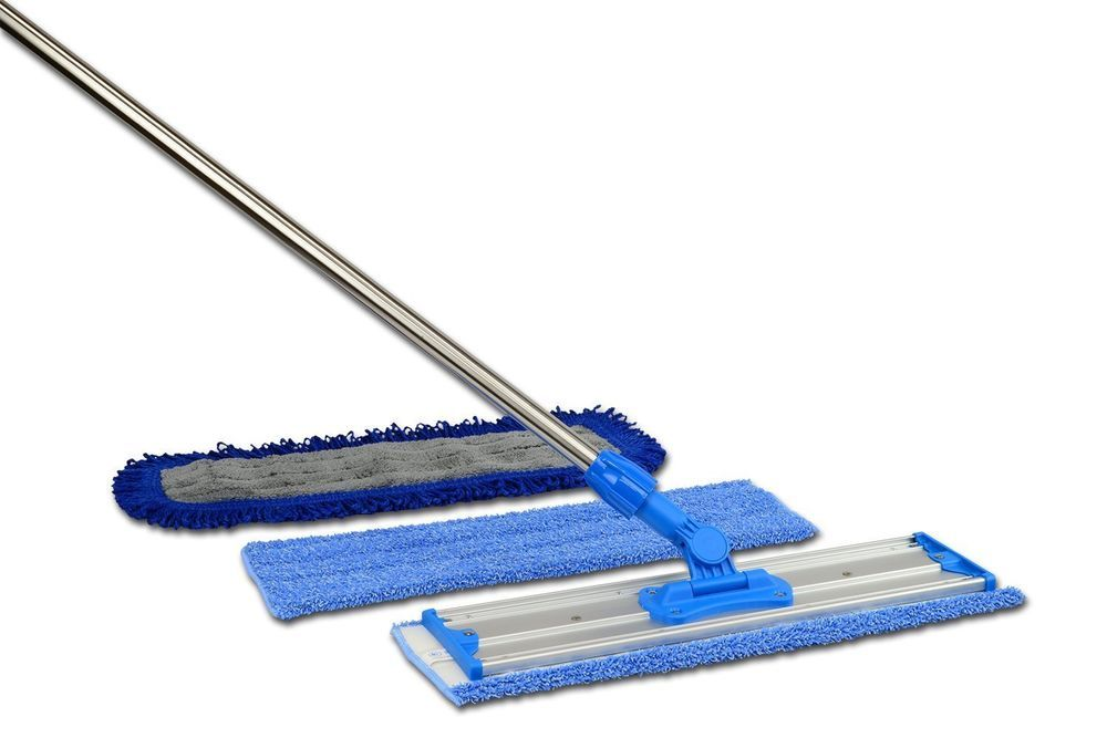 """NEW 18"""" Professional Microfiber Mop & Premium Pads to Clean Home or Office Floor #na"""
