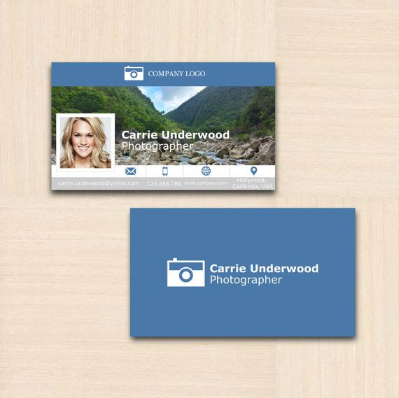 Professional business card calling card template custom professional business card calling card template custom printable photographer fbccfo Gallery