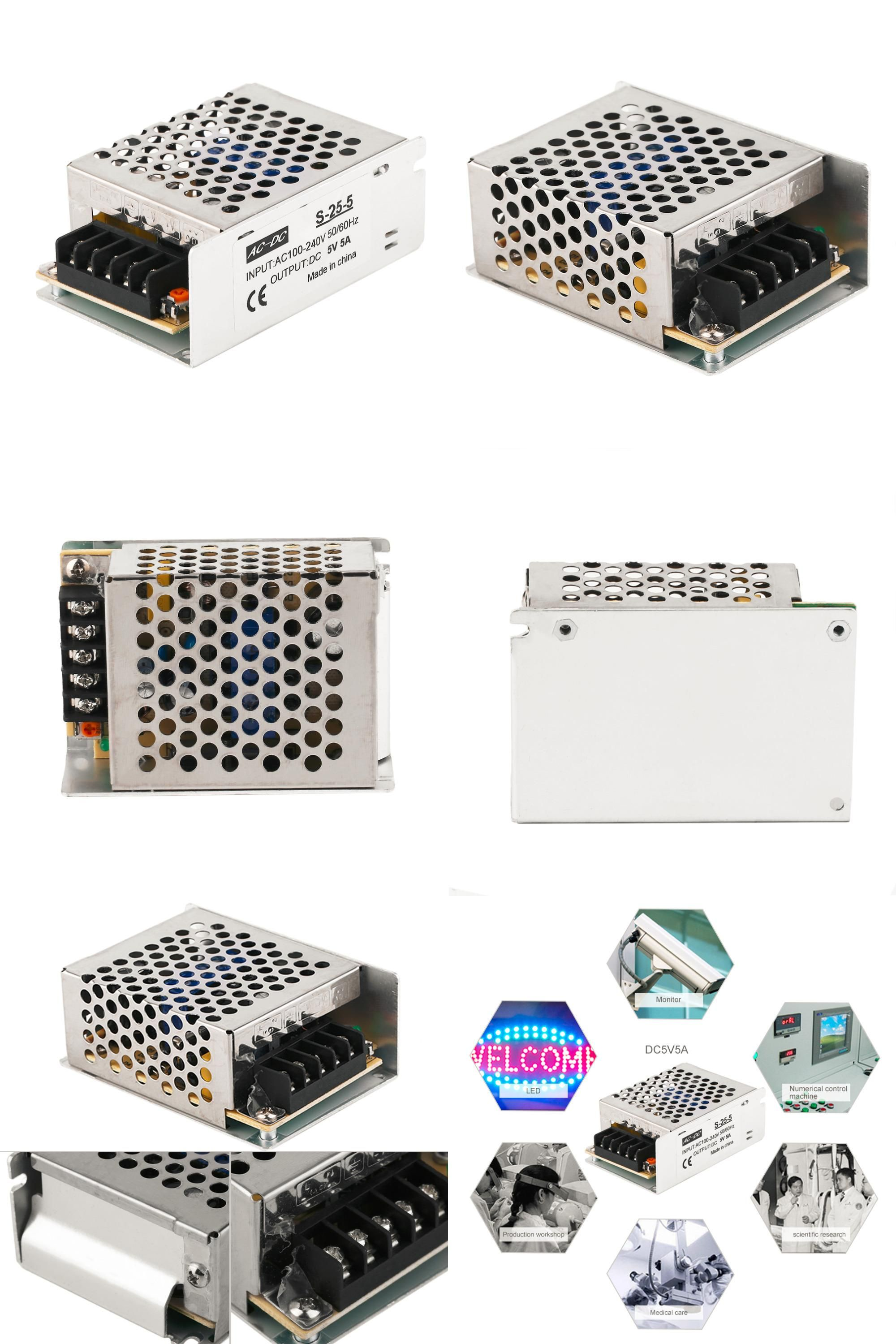 Visit to Buy] Hot 5V 5A 50W LED Switching Power Supply