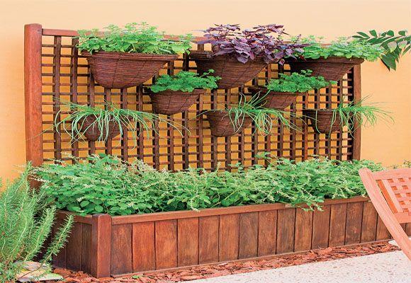Saiba como montar seu canteiro de ervas - Decoração - Plantas, Flores e Jardins