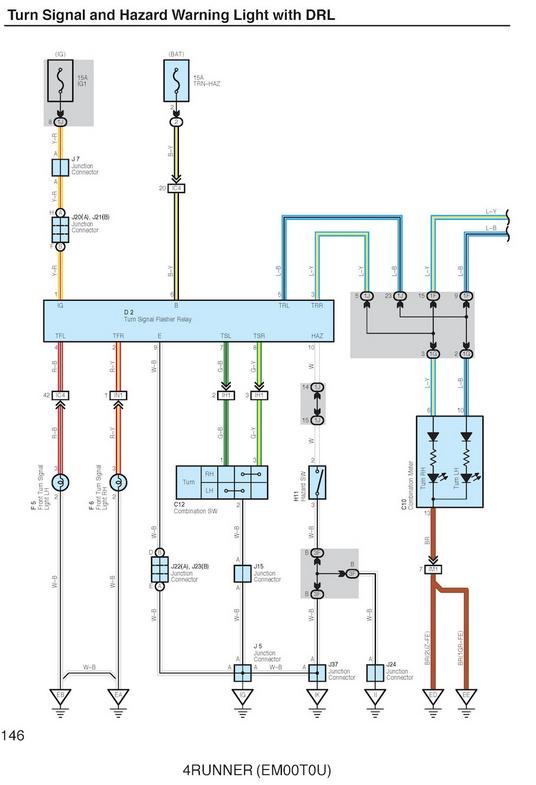 Pin By Sherri Whatittoyou On Cars N Stuff Hazard Lights Electrical Circuit Diagram Toyota 4runner