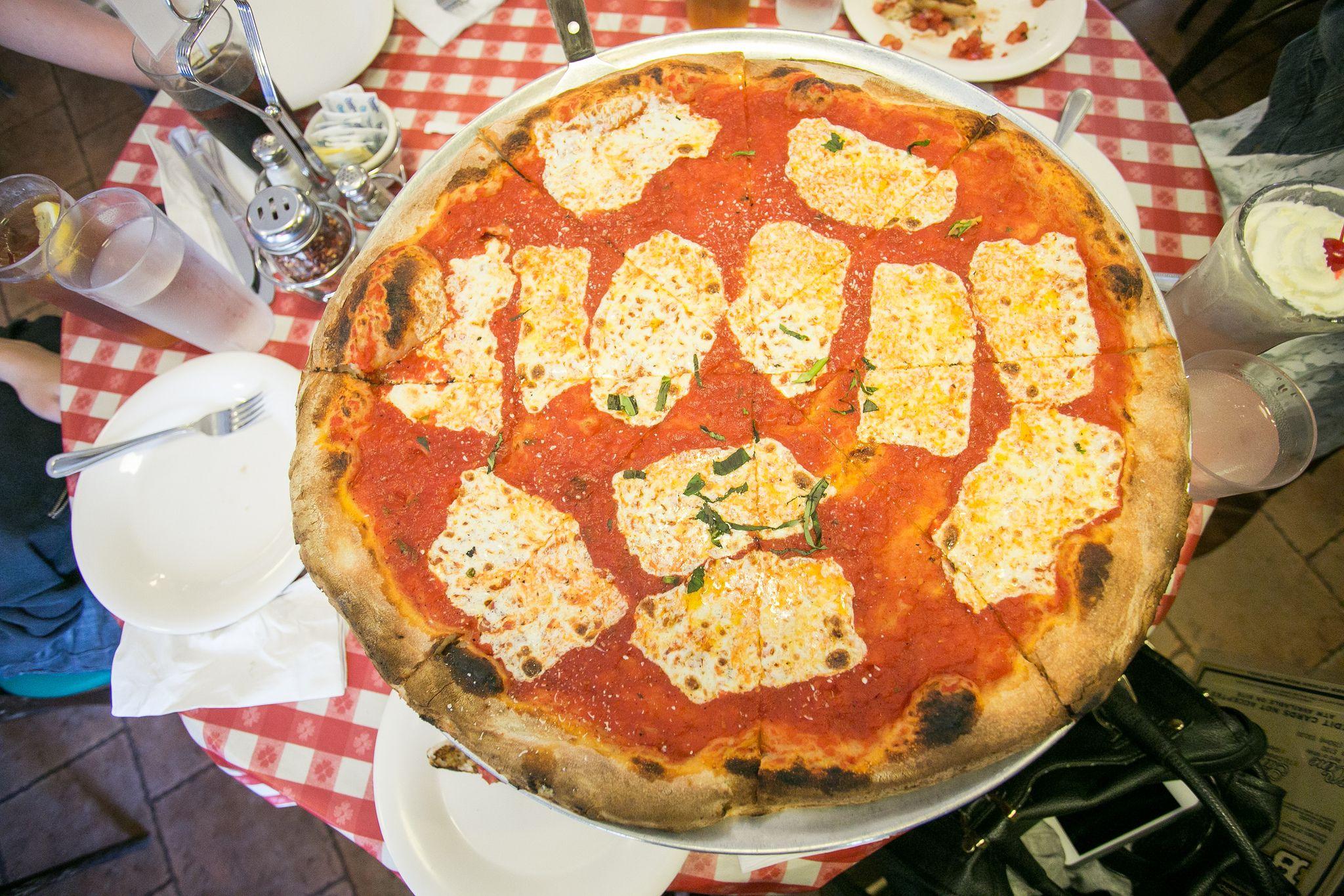 Authentic New York City pizza