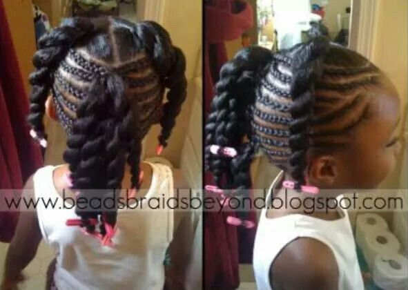 Natural Hair Braiding Styles For Kids: Pin By Keanna Winston On Kid Braid Styles