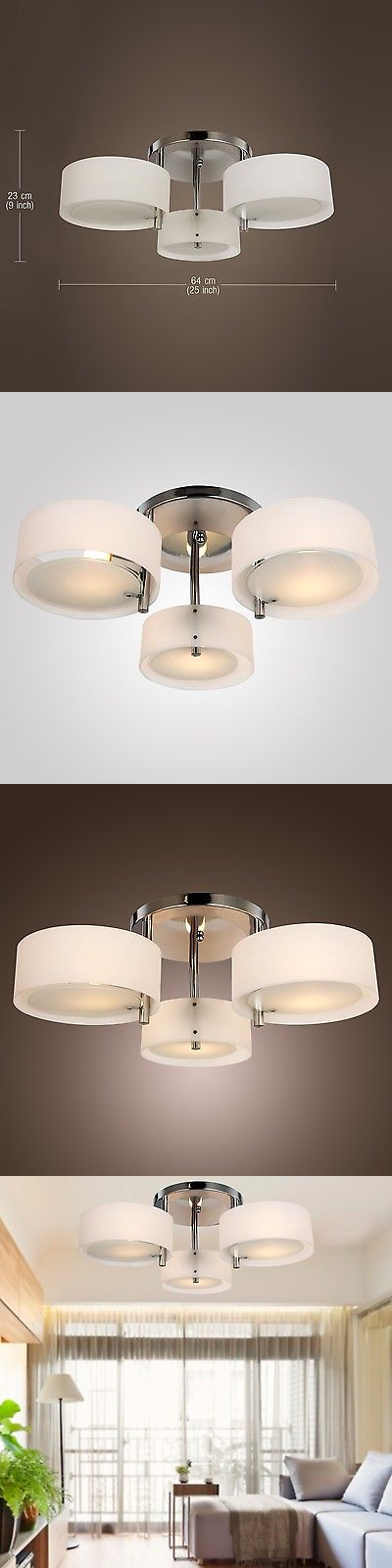 Chandeliers and Ceiling Fixtures 117503: Modern Acrylic Chandelier ...