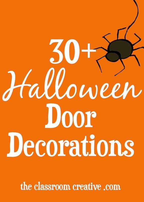#halloweenclassroomdoor