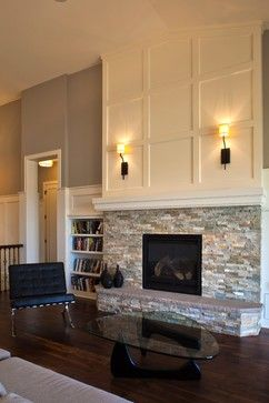 From Dt Carlson Via Houzz Com The Fireplace Surround Is Called