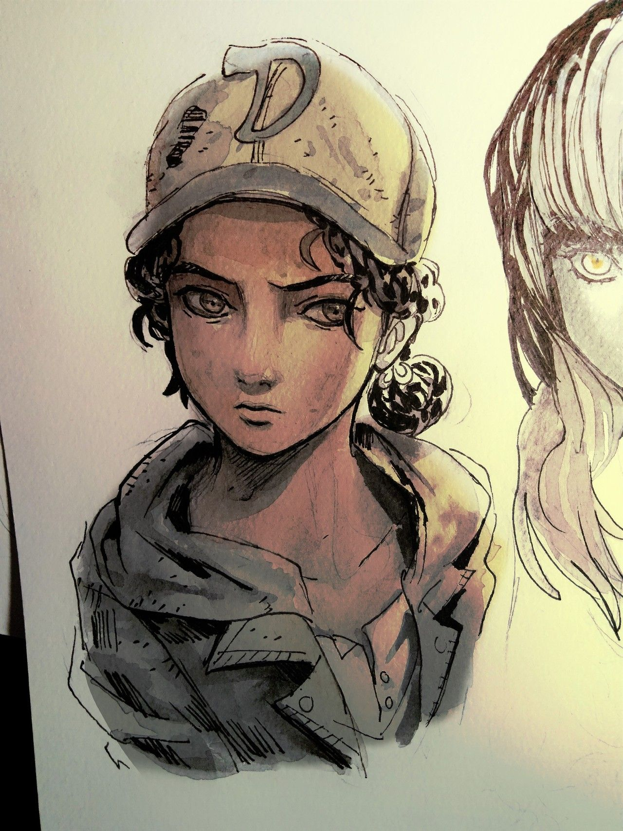 The Walking Dead A New Frontier Clementine Fan Art