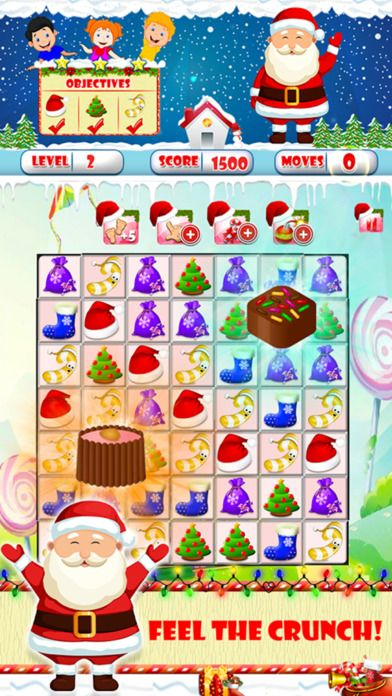 https://itunes.apple.com/us/app/christmas-match-3-deluxe-for/id1179423806 #sweeper #christmas #christmasmatch3 #santa'schimney #christmascrush #christmascookies #match3 #ginger #match