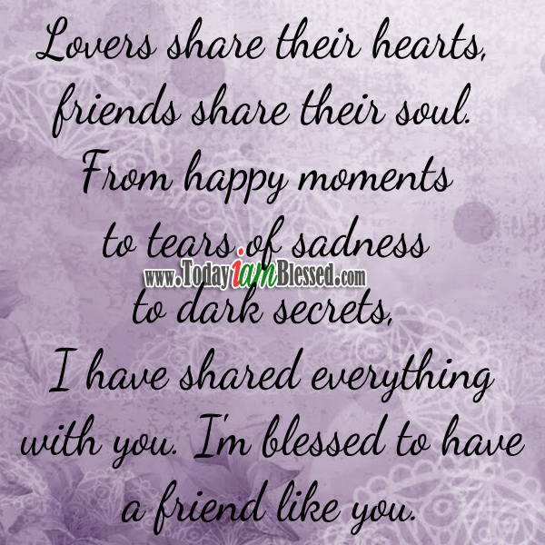 Quotes Reminiscing Happy Moments: Friendship Quotes ♥ Lovers Share Their Hearts, Friends
