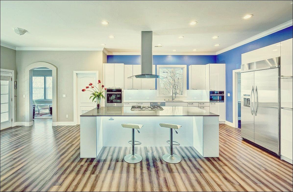9 schöne Holzböden in der Küche   Küche Deko   Modern kitchen ...