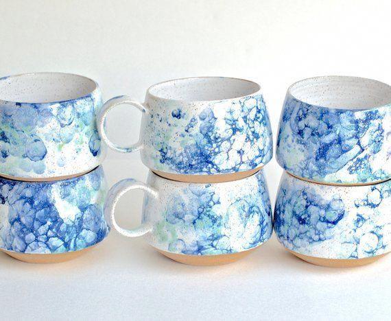 Handmade Pottery Mugs READY TO SHIP Ceramic Cups Ceramic