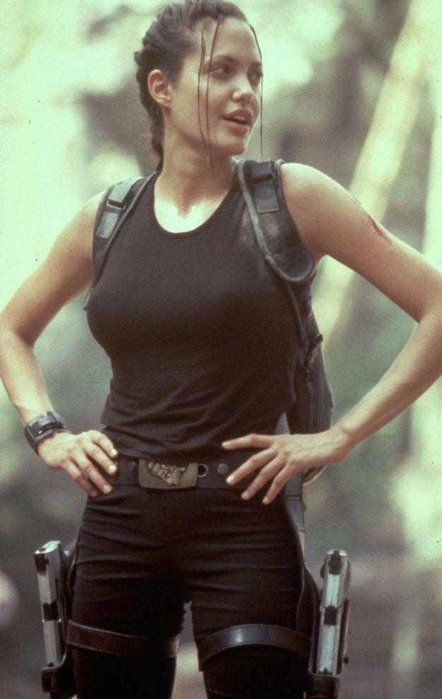 Angelina Jolie as Lara Croft | Lara croft angelina jolie