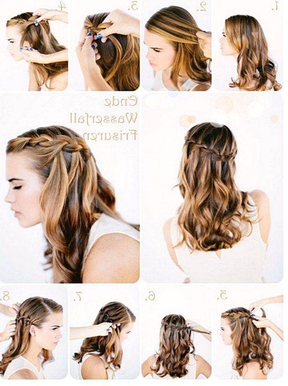 Frisuren Für Flechtfrisuren Lange Haare Anleitung Haare