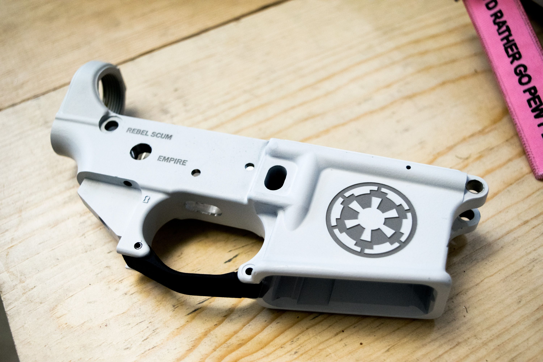 AR15 80% Forged Custom Lower – MAKE IT YOUR WAY | Gunsmith | Laser