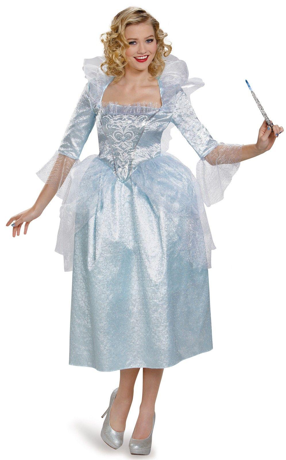 Cinderella Movie Fairy Godmother Deluxe Adult Costume Fairy