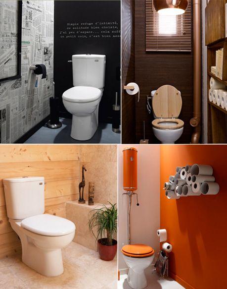 Comment décorer ses wc meubles maison Pinterest Father - Comment Decorer Ses Toilettes
