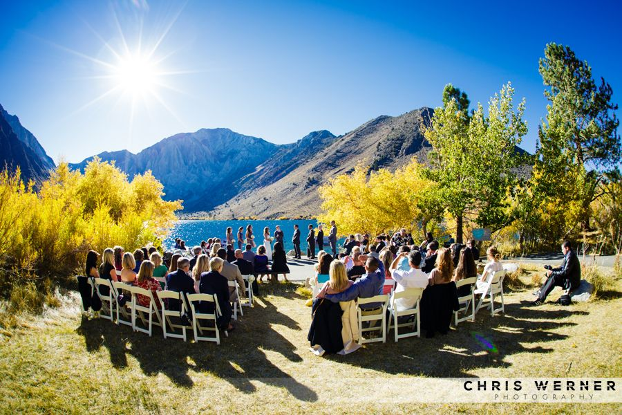 Outdoor Fall Wedding By A Lake. September Wedding, October