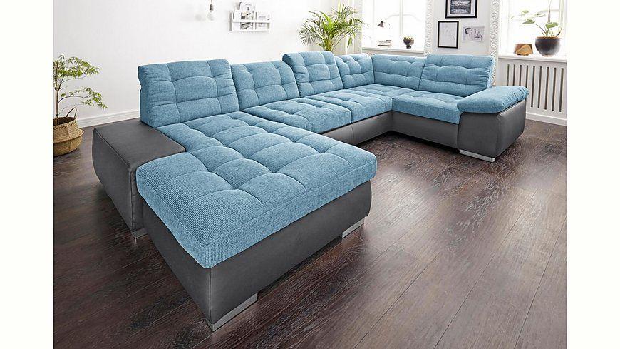 sitmore Wohnlandschaft XXL, wahlweise mit Bettfunktion Jetzt - big sofa oder wohnlandschaft