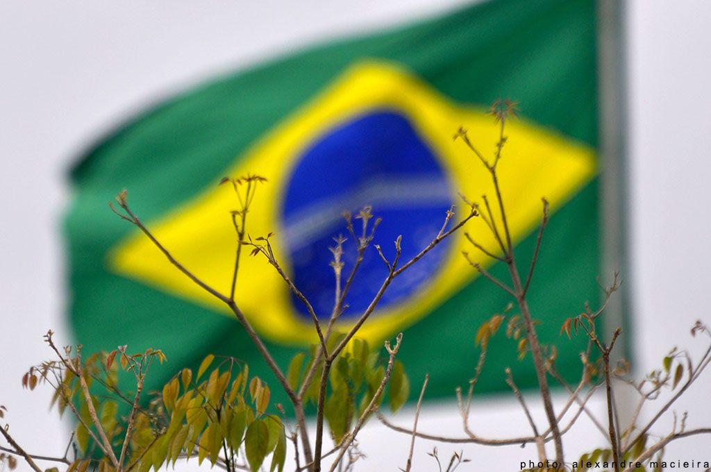 Bandeira Brasileira - Photo: Alexandre Macieira