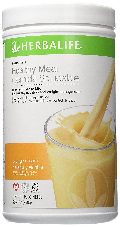 Herbalife Formula 1 Nutritional Shake Mix Orange Cream Naranja