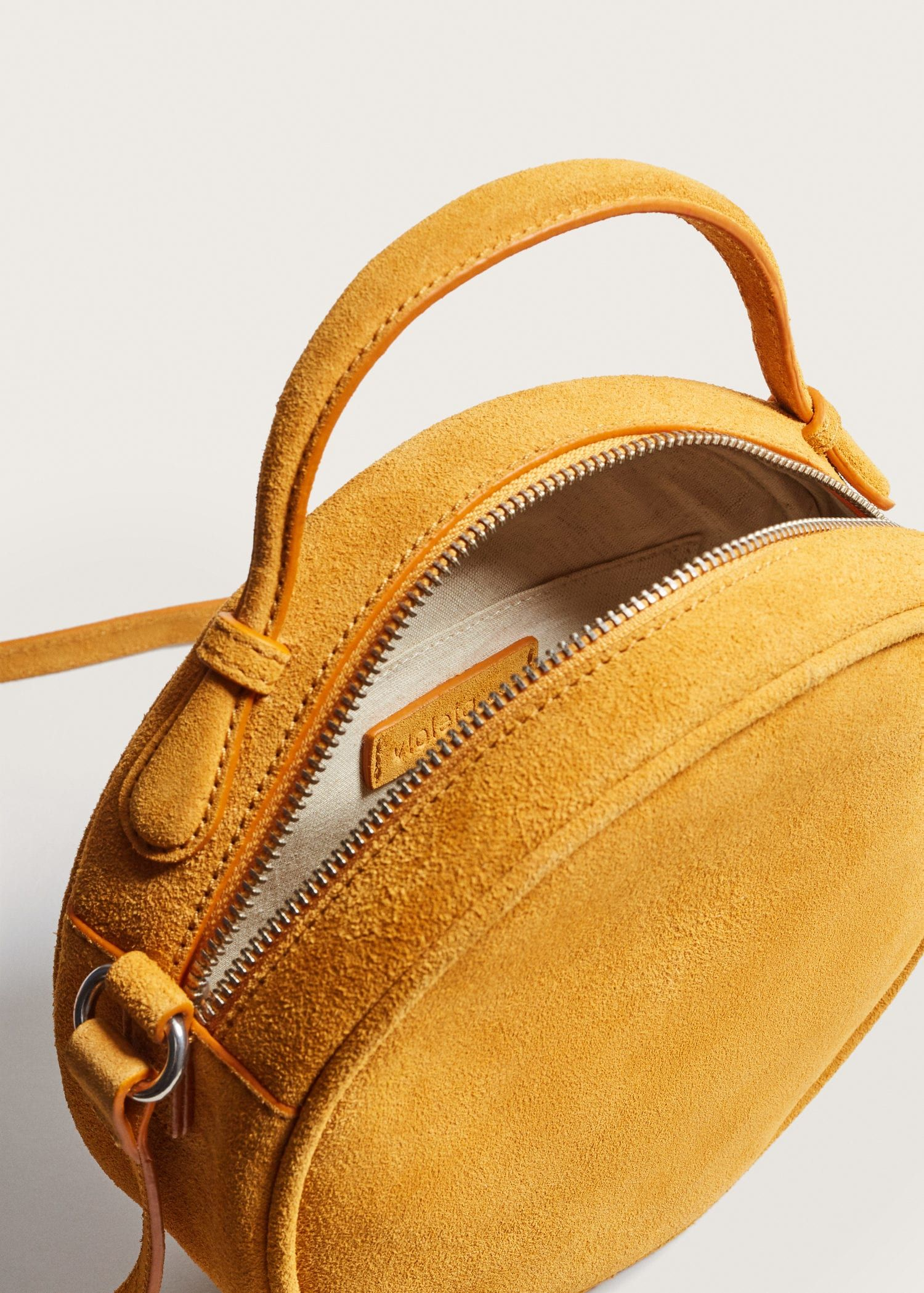 Photo of Leather bag –  Plus sizes | Violeta by Mango Sweden