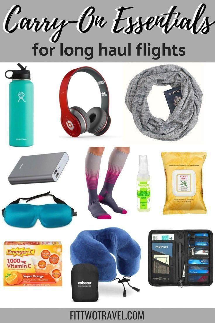 #packing  #carryon  #travel  #travelinspiration  Packing for an international flight can be challenging. Here are all the carry on essentials you need to pack for your next long haul flight #pack #carry-on What to pack in a carry-on for a long flight. All the carry-on essentials for surviving a long flight. Packing tips for an international flight