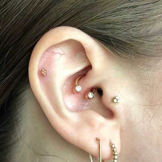 14+ 14k rose gold daith jewelry ideas in 2021