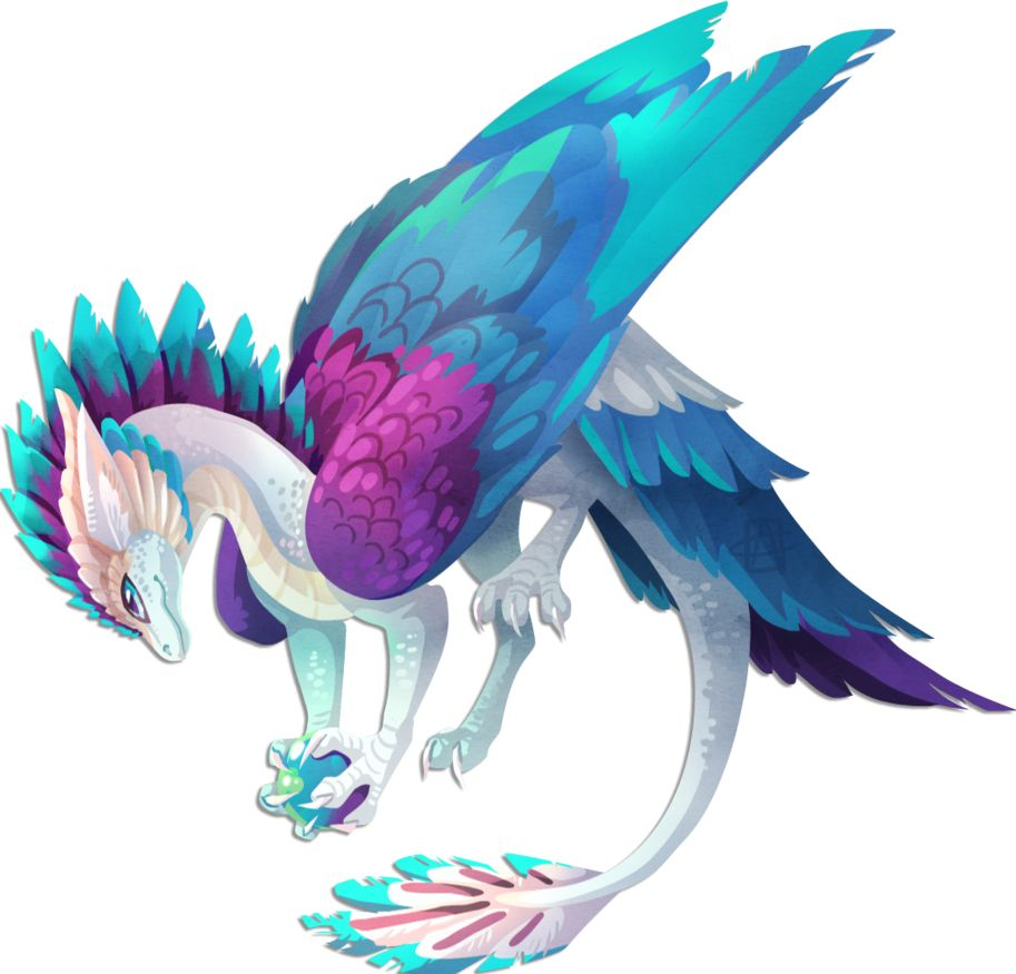 Love The Colors Mythical Creatures Fantasy Cute Fantasy Creatures Mystical Animals