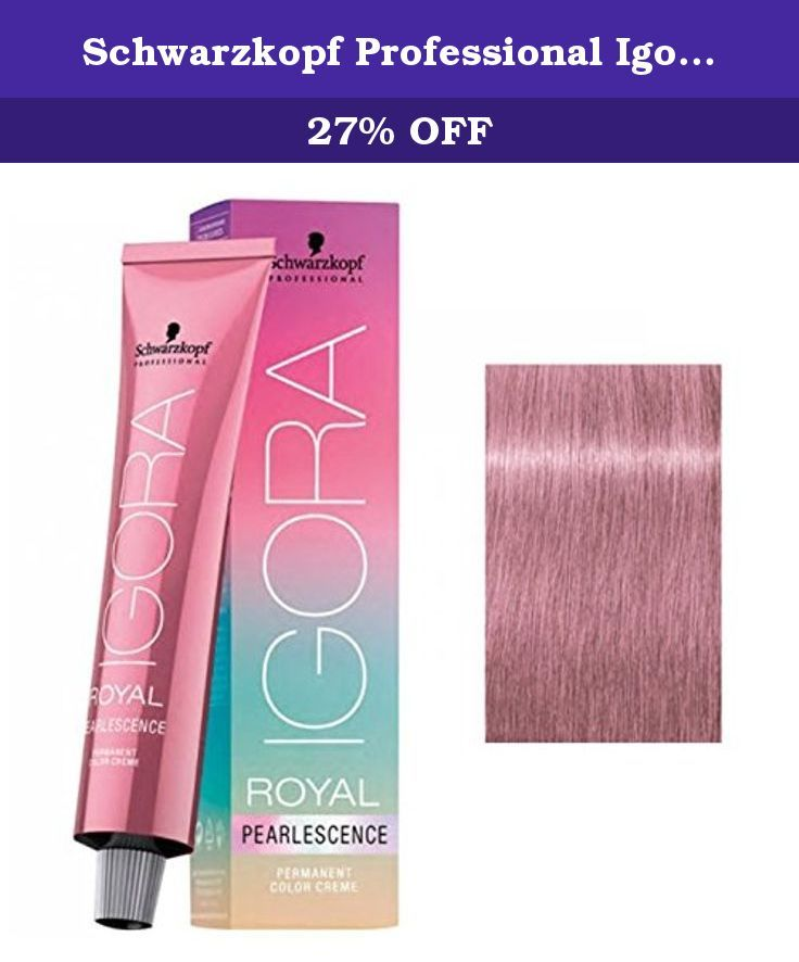 Schwarzkopf Professional Igora Royal Pearlescence Hair Color Pastel Candy P9 5 89