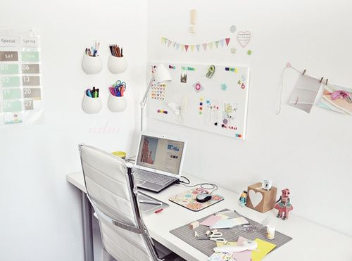 Decorando com criatividade: Home Office   Box da Mari