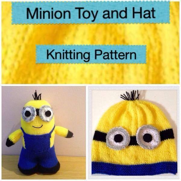 Minion Hat And Toy Knitting Pattern Minion Hats Knitting Patterns