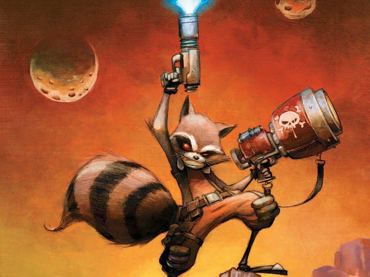 Rocket Raccoon Wallpaper Stratton Gill 1280x960